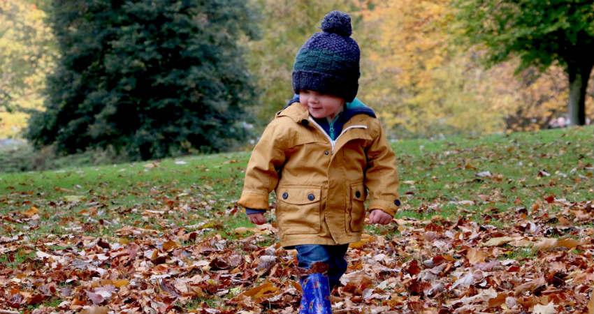 Uldtøj til børn er en fordel om vinteren